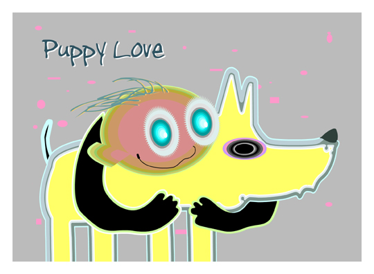 """Puppy Love"" - Click Image to Close"